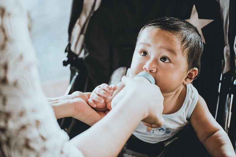 כמות אוכל לתינוק